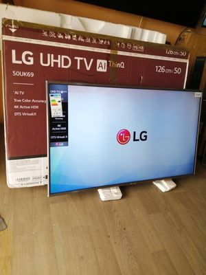 LG 50 inches TV *Ultra 4K UHD HD HDR* *Smart Digital Satellite* *AI thin Q* *Web OS* *Screen Share (phone n laptop to TV share)* Model : 50UK6950PLB for Sale in Warren, MA