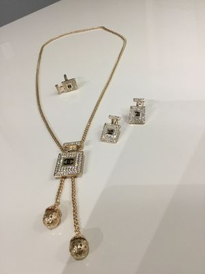 Trendy Designer Necklace With Matching Earring and Ring for Sale in Hyattsville, MD