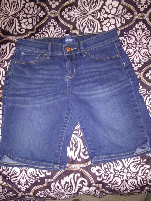 Old Navy denim girls shorts size14 regular for Sale in San Angelo, TX