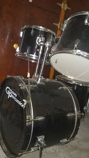 drum set Black for Sale in Anaheim, CA
