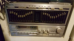 Kenwood receiver and equalizer for Sale in Westminster, CA