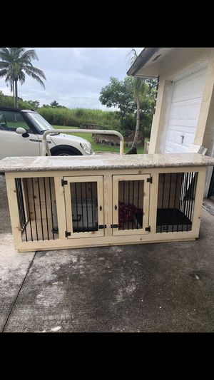 Custom Dog kennels (double or single) for Sale in Miami, FL