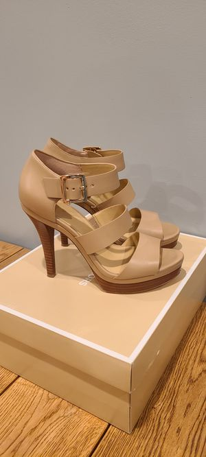 Michael Kors sandals! Worn only one time!!!!! for Sale in Trenton, NJ
