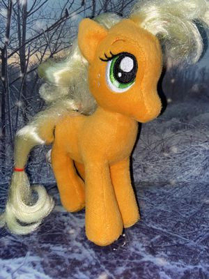 "My Little Pony the Movie Applejack 7"" plush for Sale in Bellflower, CA"