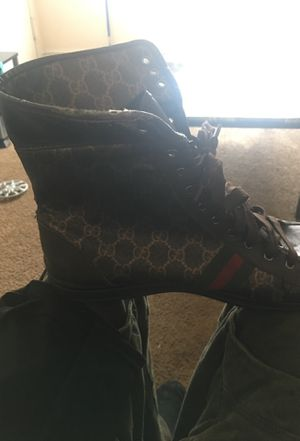 Gucci Hi Tops Size 11 for Sale in Washington, MD