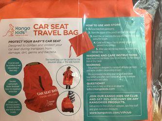 Kango Kids - Car Seat Travel Bag - New for Sale in Virginia Beach,  VA