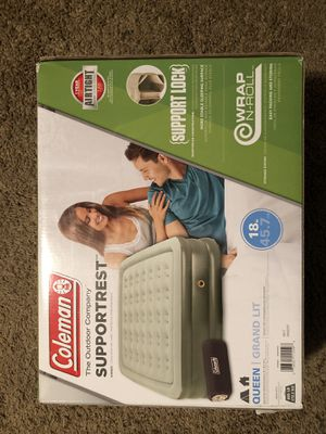 Air Mattress- Coleman Supportrest Queen Grand Lit for Sale in Houston, TX