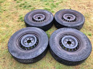 Mercedes Sprinter Rims, Tires with sensors. 245/75 R16 LT for Sale in Arlington, WA