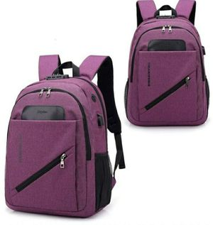 WATERPROOF BACKPACK RUCKSACK BAG WITH USB PORT for Sale in Houston, TX