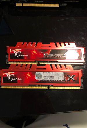 Ripjaws X 16gb (2x8gb) DDR3 Ram Sticks for Sale in Lake Oswego, OR