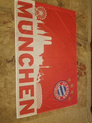FC Bayern Munchen 3x5 Flag! Soccer Futbol! Looks Great! for Sale in Dallas, GA