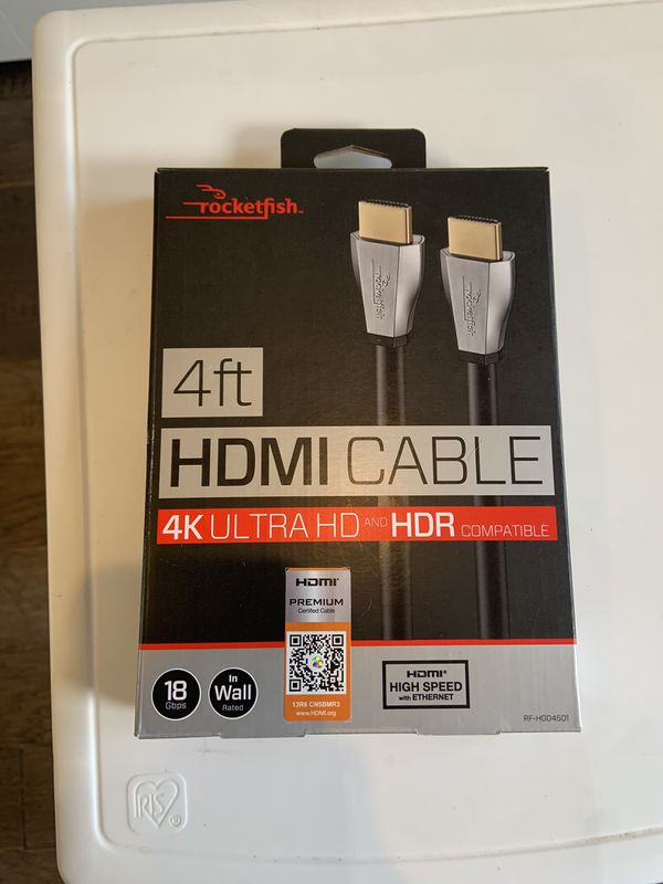 HDMI cable never used.