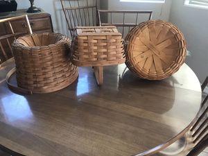 Longaberger baskets. for Sale in Phoenix, AZ