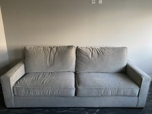 Grey couch for Sale in Boca Raton, FL