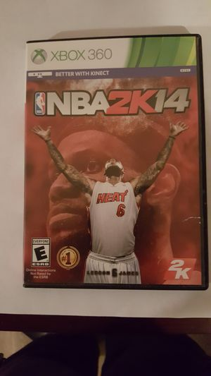 Nba 2k14 and Madden 14 Xbox 360 for Sale in NC, US