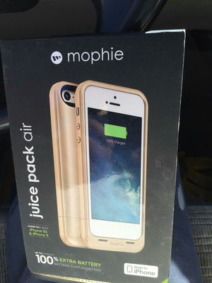 IPhone 5 or 5s case.. new juice pack for Sale in Phoenix, AZ