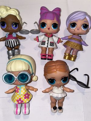 Lol Dolls lot of 5 for Sale in Portland, OR