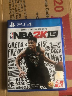 NBA 2k19 for Sale in Pawtucket, RI