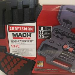 Craftsman/Mach Series/53-PC Socket Wrench SET for Sale in Schenectady,  NY