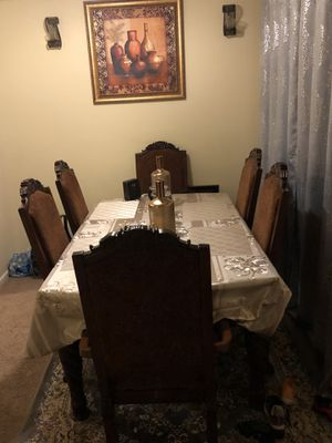 Dining table it has 6 tables new for Sale in Columbus, OH