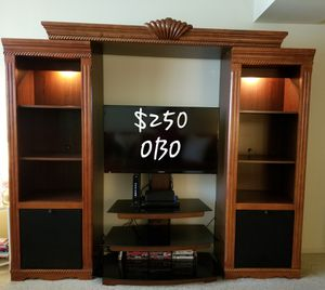 Entertainment Center with TV stand for Sale in Manassas, VA
