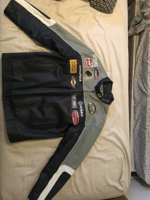 Jimmie Johnson leather jacket for Sale in Modesto, CA