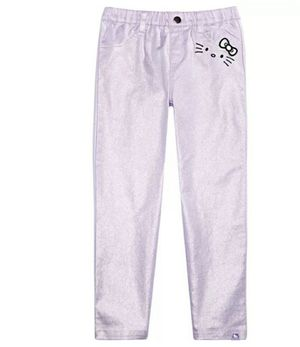 New Hello Kitty little girl metallic pants for Sale in Boynton Beach, FL