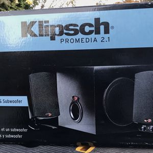 Klipsch THX 200W Gaming Desktop Speakers for Sale in Hayward, CA