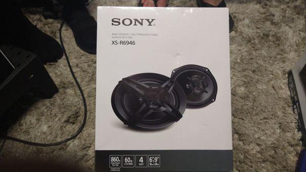Sony 6x9 speakers