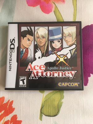 Ace Attorney Apollo Justice Nintendo DS/3DS for Sale in Dunstable, MA