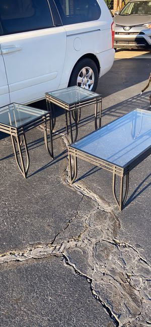3 piece coffee end tables set for Sale in Walkertown, NC