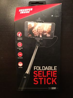 *** BRAND NEW *** - Sharper Image - Foldable Selfie Stick - SCA3201 - for Sale in Philadelphia, PA