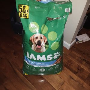 Free 50 Pound Iams Large Breed Dog Food for Sale in Puyallup, WA