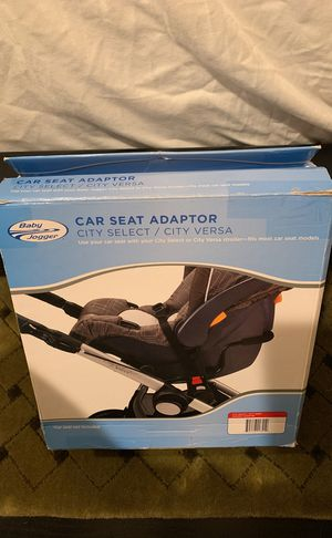 Baby Jogger Select/LUX Britax CSA Adapter, Black for Sale in Houston, TX