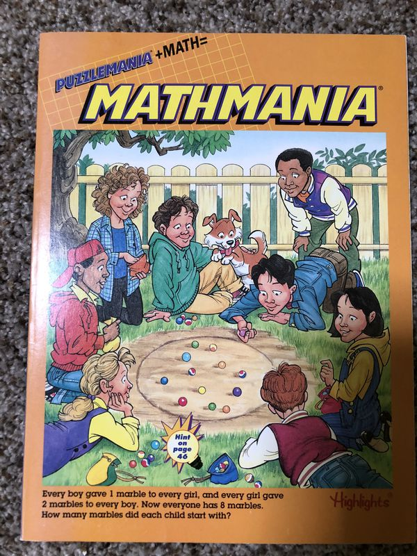 (3) Highlights puzzle mania activity books