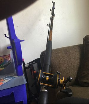 12ft ugly stik with reel for Sale in Menlo Park, CA