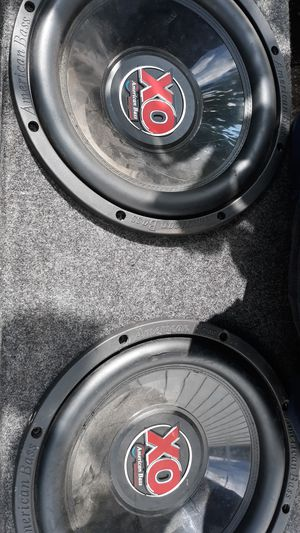 Americans bass Speakers for low for Sale in Cleveland, OH