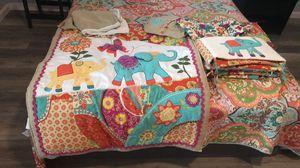 Baby girl crib bedding set for Sale in Portsmouth, VA