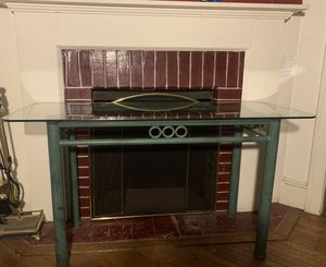Glass console table for Sale in Philadelphia, PA
