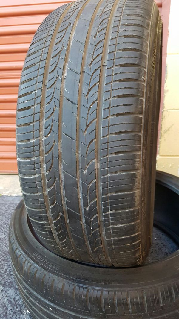 215 40 18 KUMHO 99% TREAD TAKE OFFS BMW MERCEDES LEXUS AUDI INFINITE CORVETTE MUSTANG CHEVY DODGE JAGUAR HONDA ACURA NISSAN