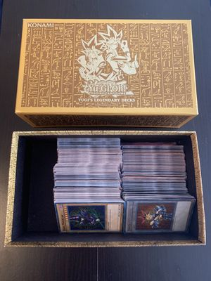 King of games yugi's legendary decks collectors set for Sale in Los Angeles, CA