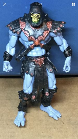 2001 Mattel Masters Of The Universe Action Figure Skeletor for Sale in Manteca, CA
