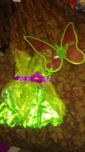 Costume tinker bell 4-6 x for Sale in Escondido, CA