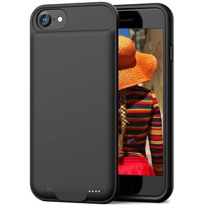 Battery Case for iPhone 7, 3000mAH Rechargeable Case Protective Charging Battery Case Portable Charger Extended Battery for iPhone 7/8 Black (4.7 inc for Sale in La Verne, CA