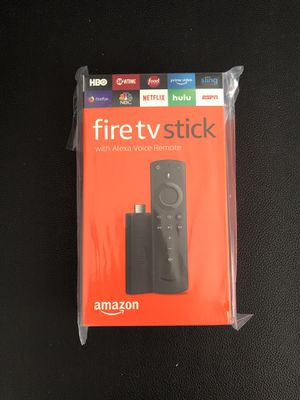 Amazon Fire Tv Stick (Alexa Remote). Brand new Unopened for Sale in Redmond, WA