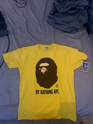 Yellow bape shirt Size large for Sale in Fort Lauderdale, FL