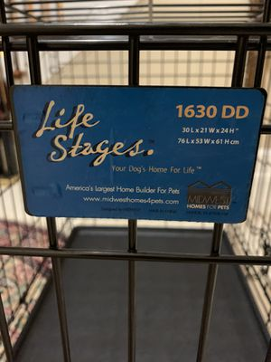 """MidWest Life Stages Double Door Dog Crate 30"""" for Sale in McLean, VA"""