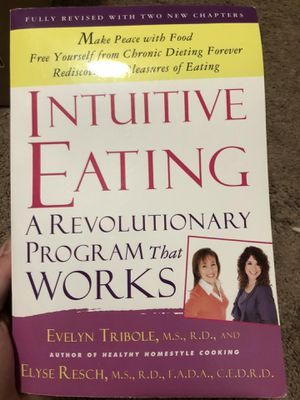 **INTUITIVE EATING** - free yourself from chronic dieting!! for Sale in Alameda, CA
