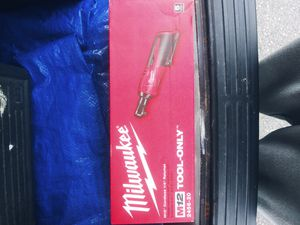 Milwaukee m12 ratchet power tool for Sale in Tacoma, WA