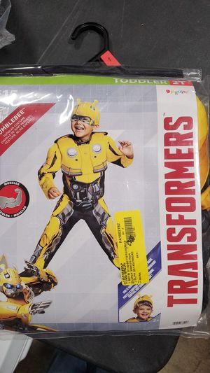 Transformers Bumblebee toddler costume 2T for Sale in Riverside, CA
